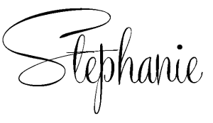 stephanie blog signature