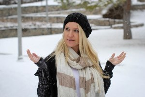 Purely Chic Snowy Day