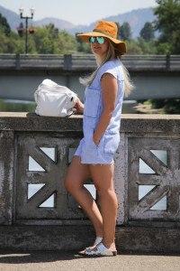 Purely Chic Zara Denim Romper
