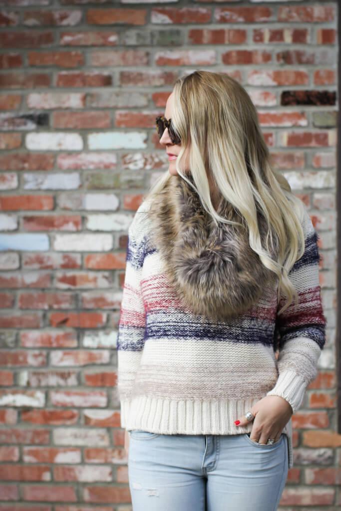 Nordstrom Faux Fur Scarf