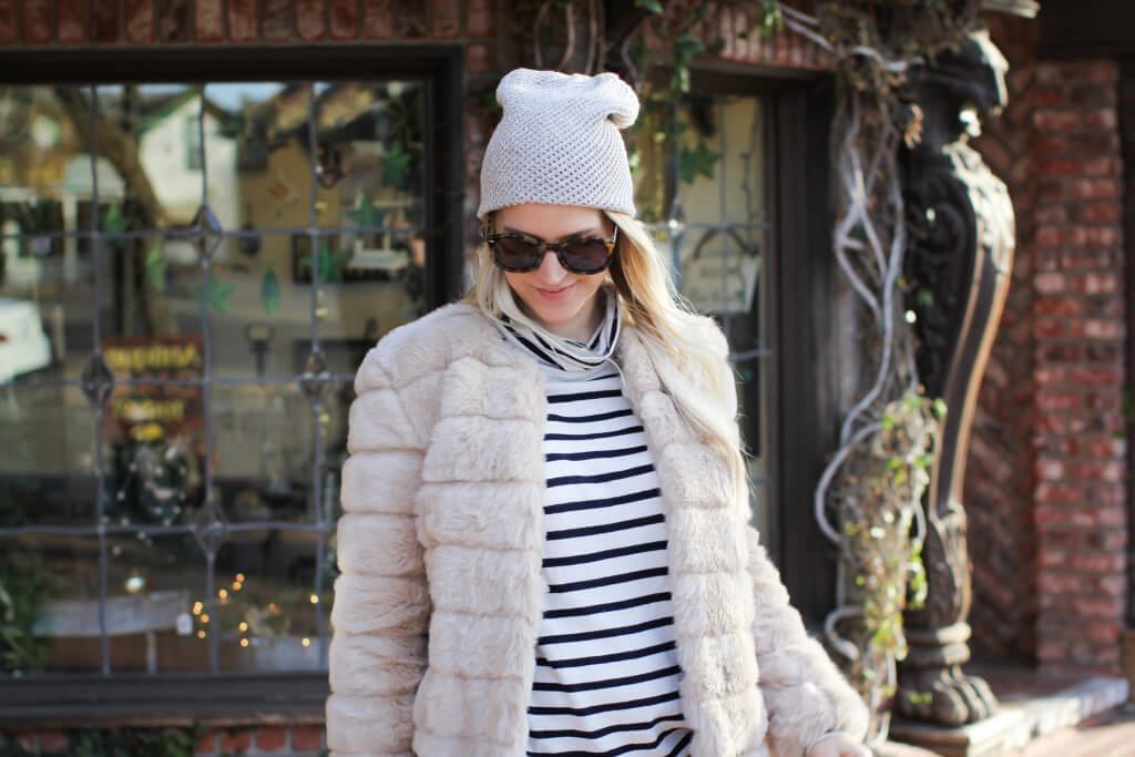 Purely Chic Beanie and Coat
