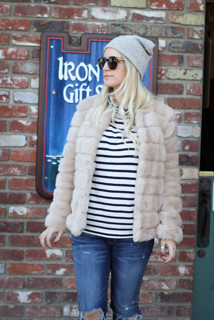 Purely Chic Faux Fur